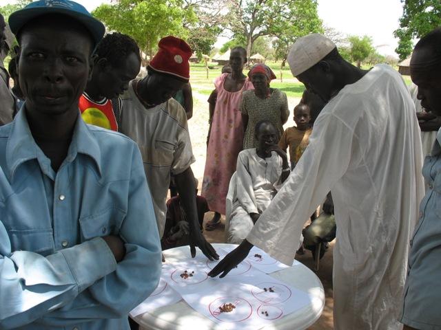 3 IDP Focus group at Akot, South Sudan