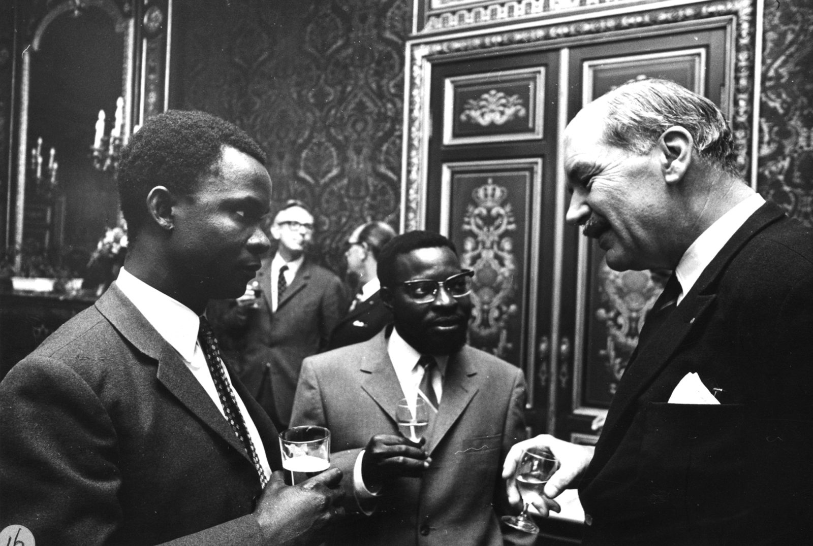 ISS 65 years in pictures – Drinks at the Dies Natalis 1970 -2000