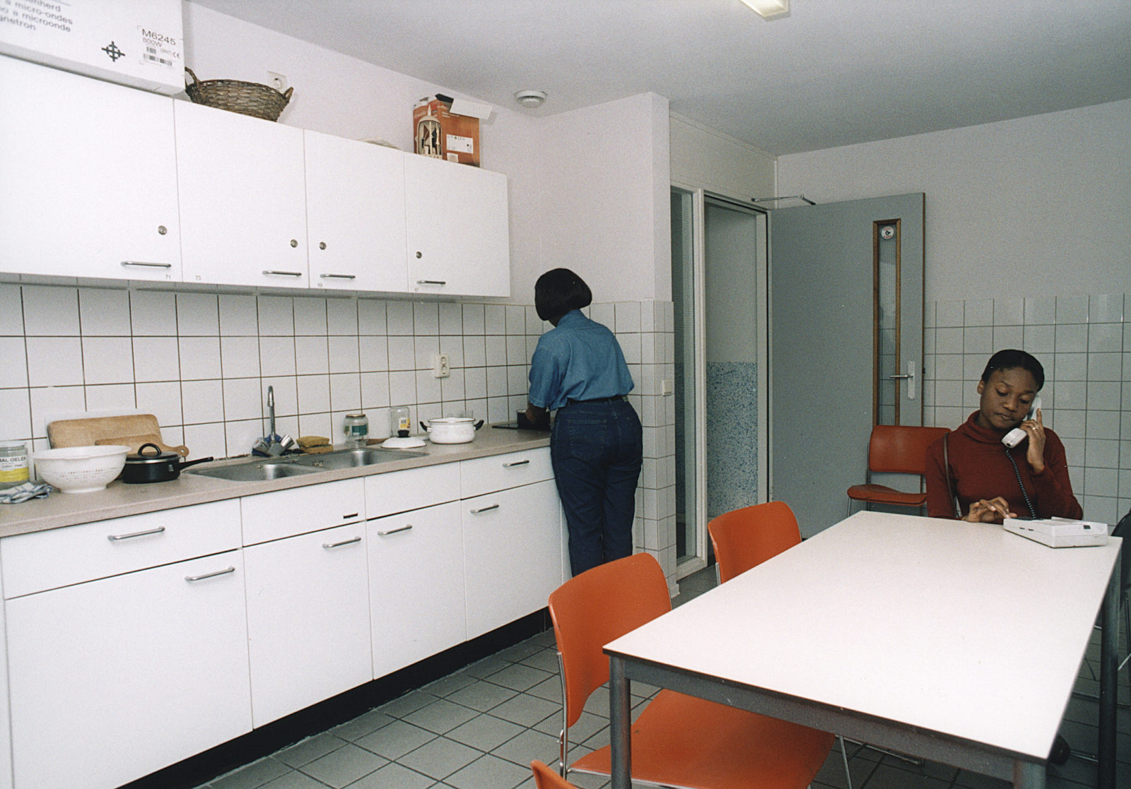 ISS 65 years in pictures – student housing in 2000
