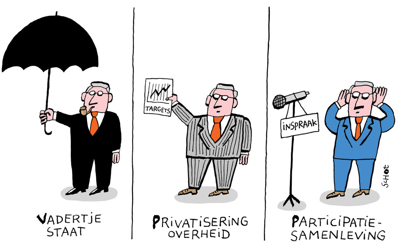 kwestie participatiesamenleving vadertje staat privatisering bas van der schot
