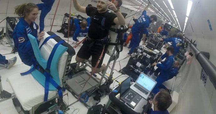 vestand-gewichtloosheid-paraboolvlucht-experiment
