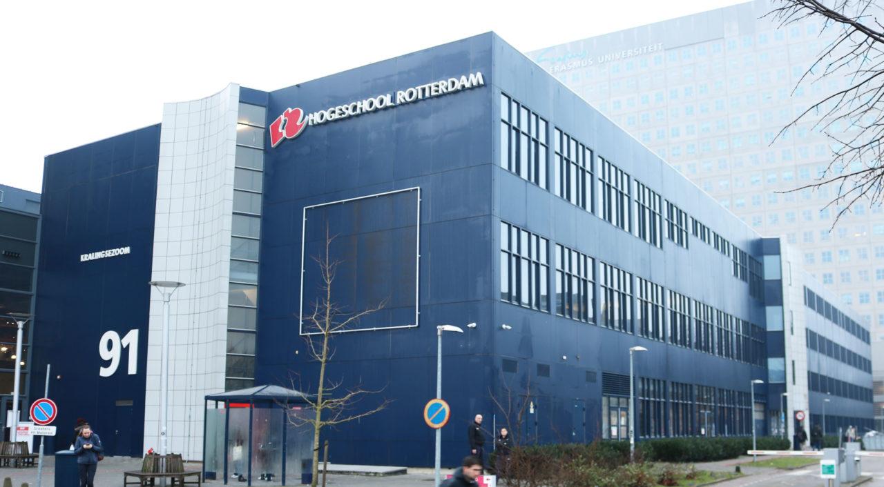 Hogeschool-Rotterdam-gesloten