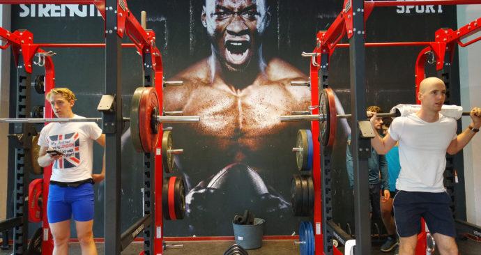 Fitnesshal, Erasmus Sport
