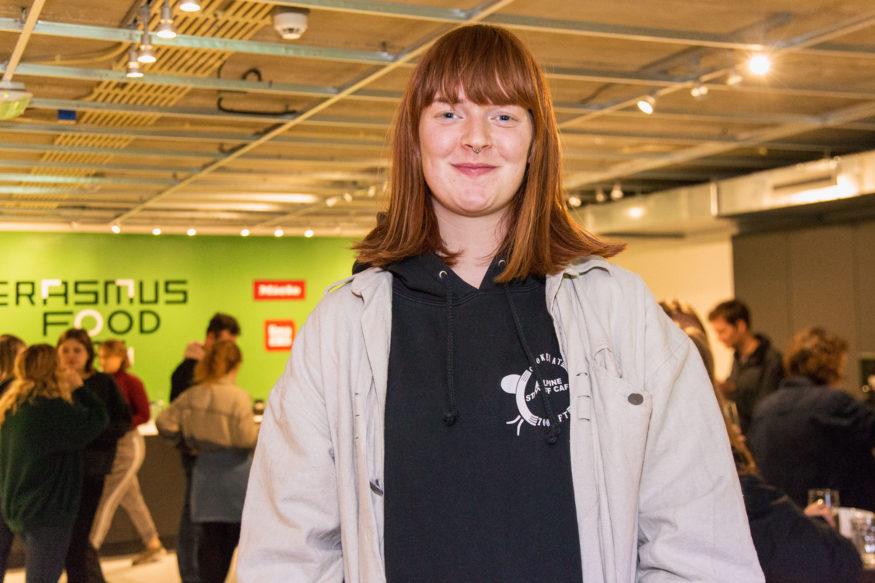 Luisa Osburg (eerstejaars psychologiestudent)