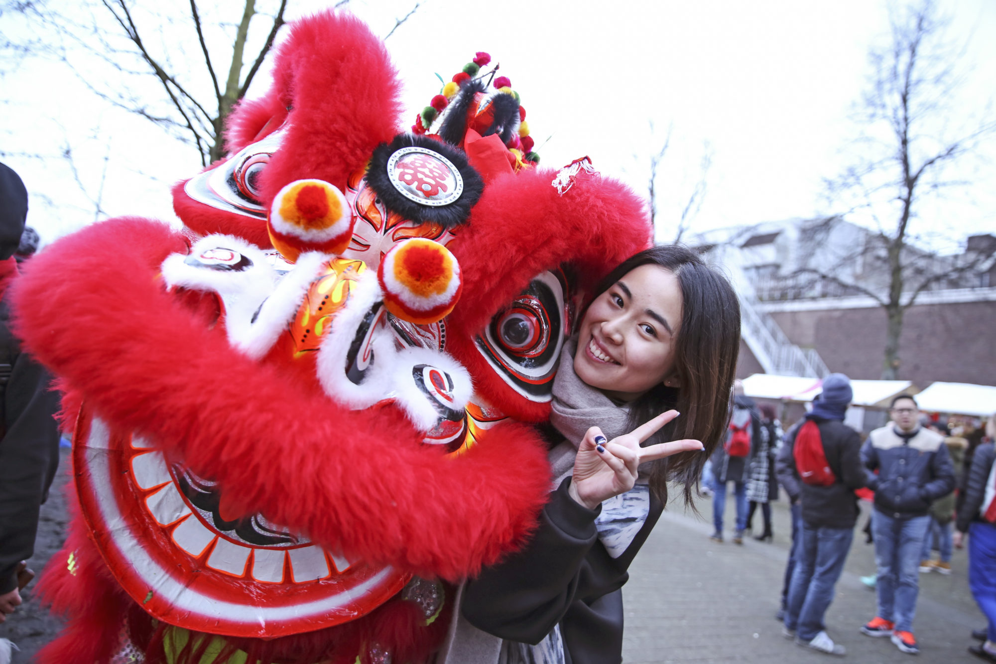 Chinese New Year in Rotterdam: red underwear, red ...