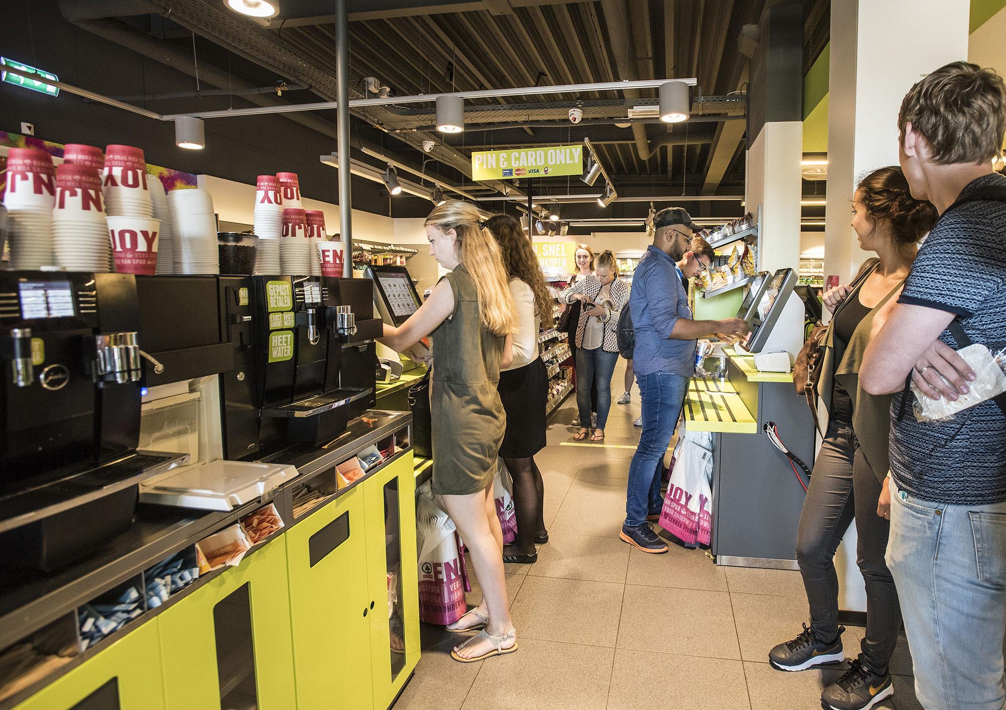 spar- campus supermarkt