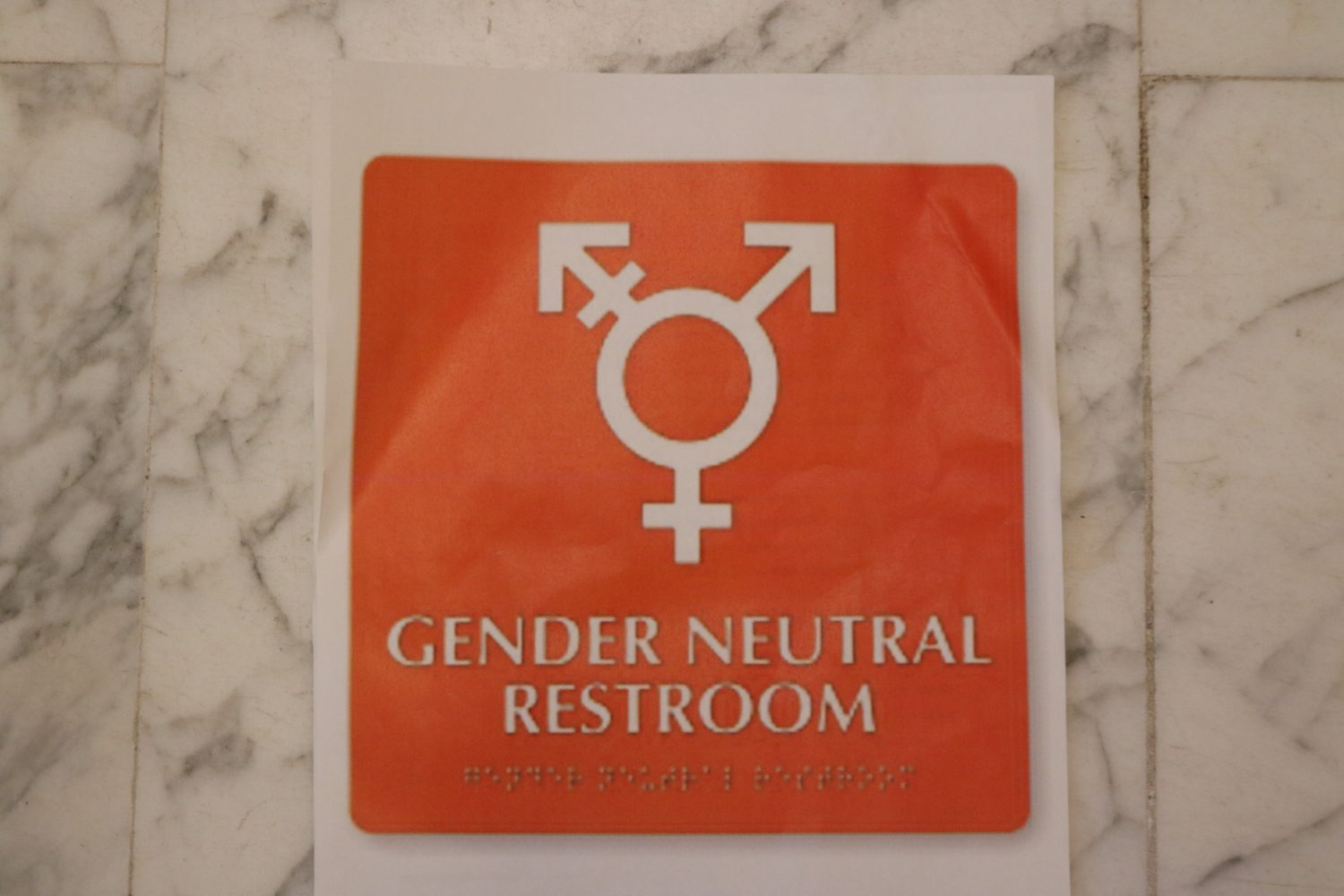 Gender Neutral Restrooms At EUC: 'People Will Just Get
