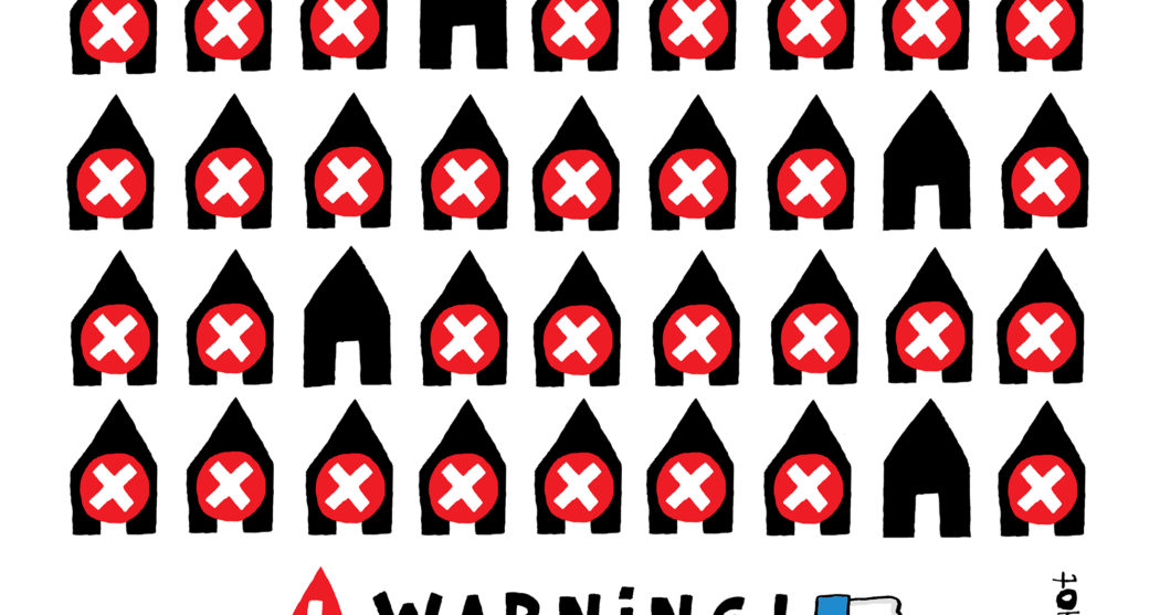 Fake ads home warning facebook