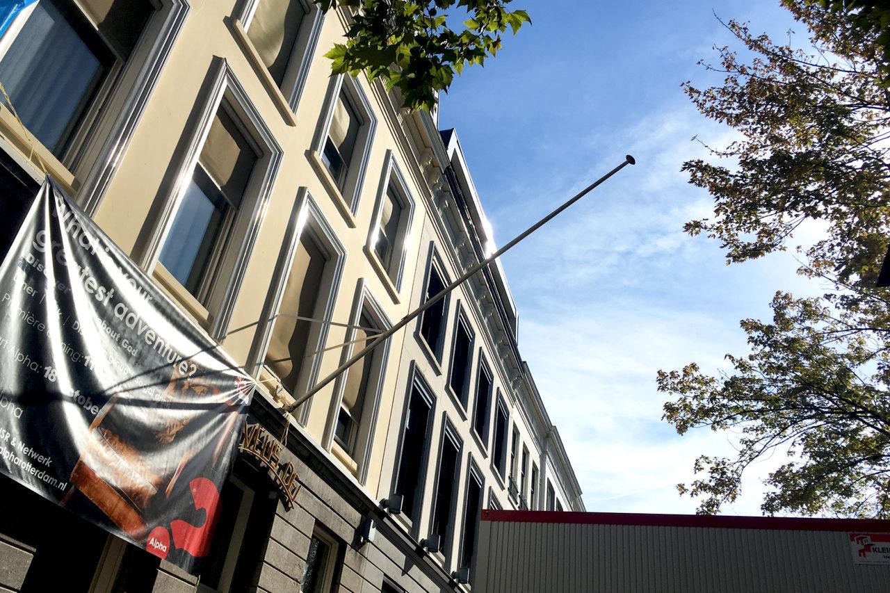 NSR eendrachtsplein vlag regenboogvlag