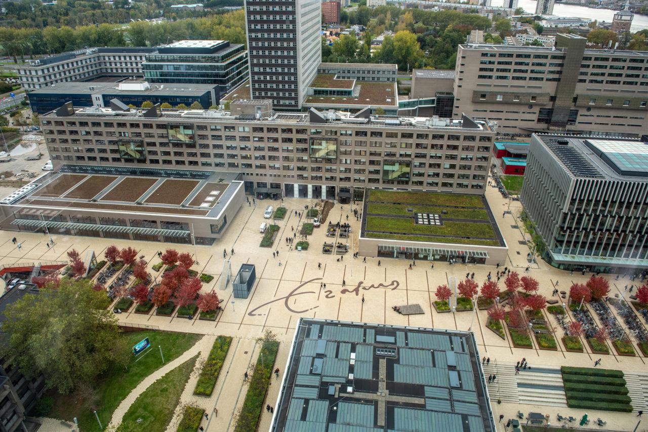 Campus Woudestein EUR, Tinbergen Building (2018)