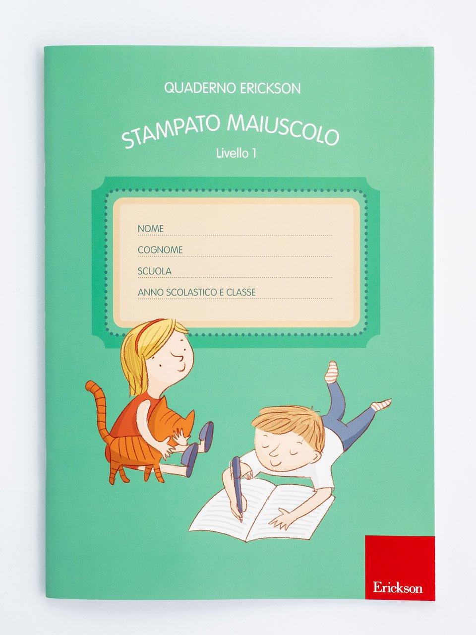 Quaderno Erickson per la disgrafia - Livello 1 - STAMPATO MAIUSCOLO - Test BHK - Scala sintetica per la valutazione dell - Libri - Erickson