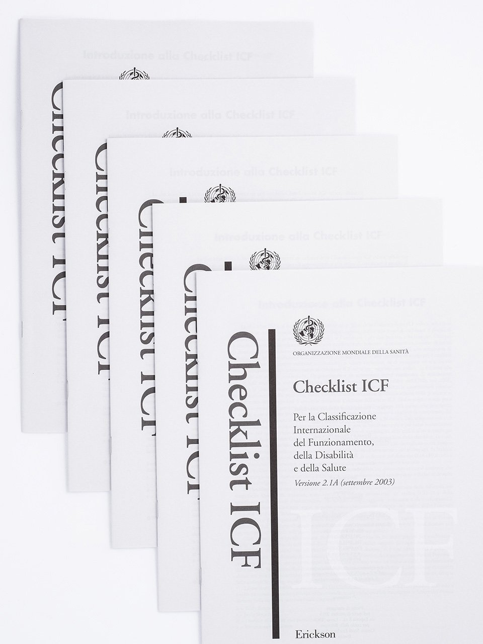 Checklist ICF - ICF-CY - Libri - Erickson