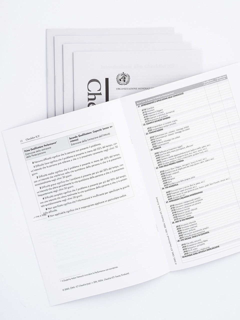 Checklist ICF - Strumenti - Erickson 2