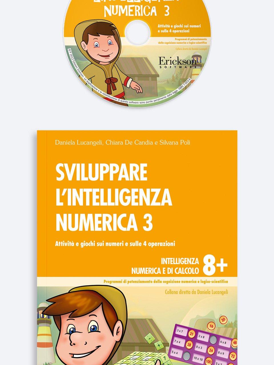 Sviluppare l'intelligenza numerica 3 - Test ABCA - Abilità di calcolo aritmetico - Libri - Erickson
