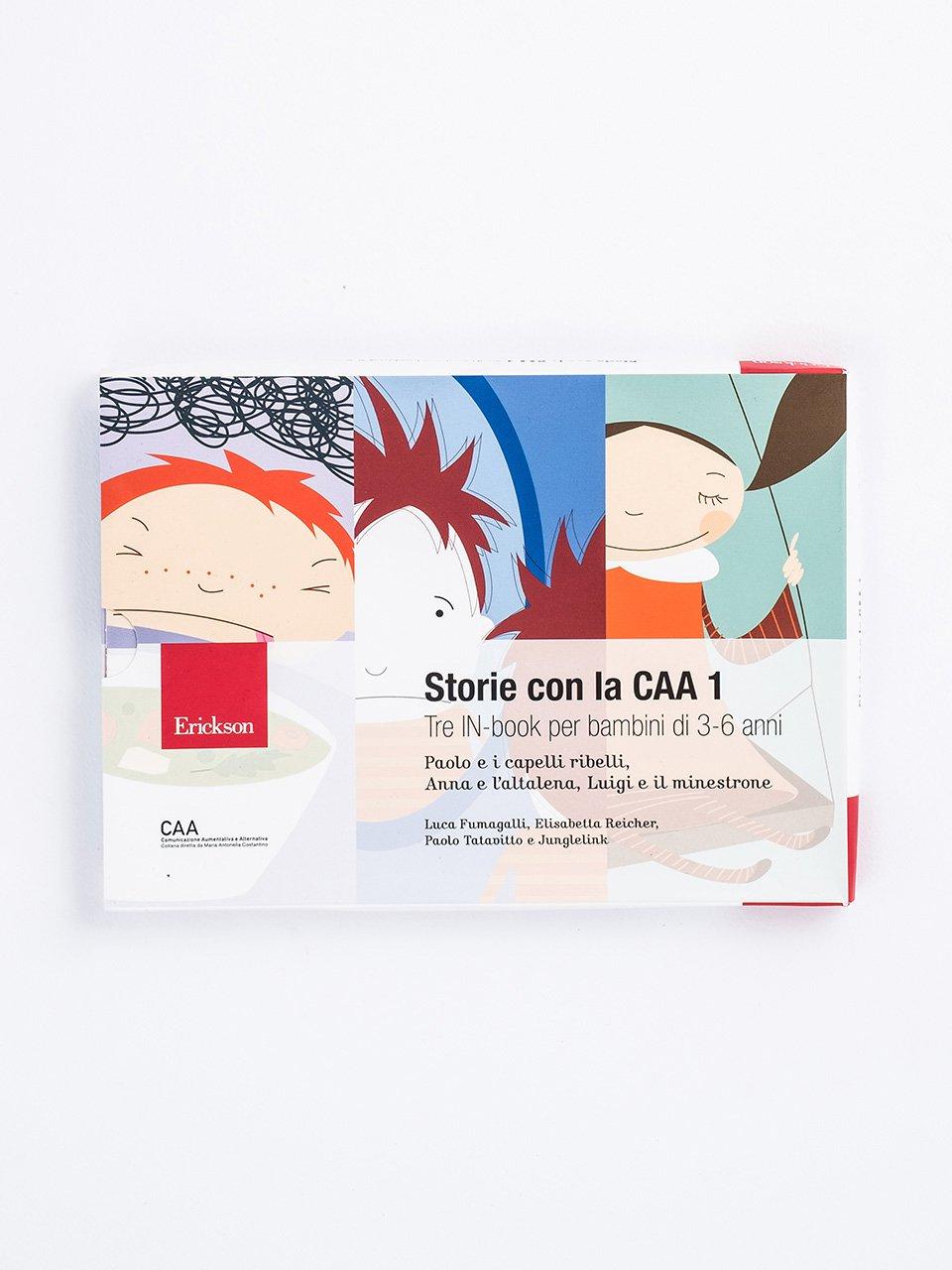 Storie con la CAA 1 - I Classici con la CAA - Pinocchio - Libri - Erickson
