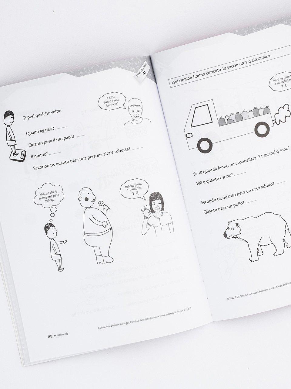 Pronti per la matematica della scuola secondaria - Libri - Erickson 2