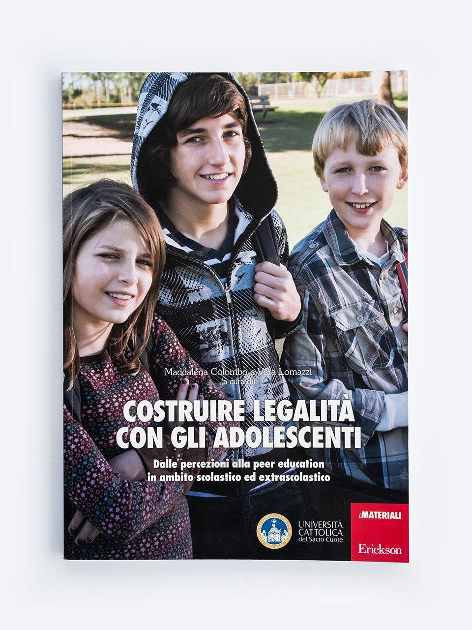 Costruire legalità con gli adolescenti - Imparo a fare i Lapbook. Aprendo...Apprendo!® - Co - Formazione - Erickson