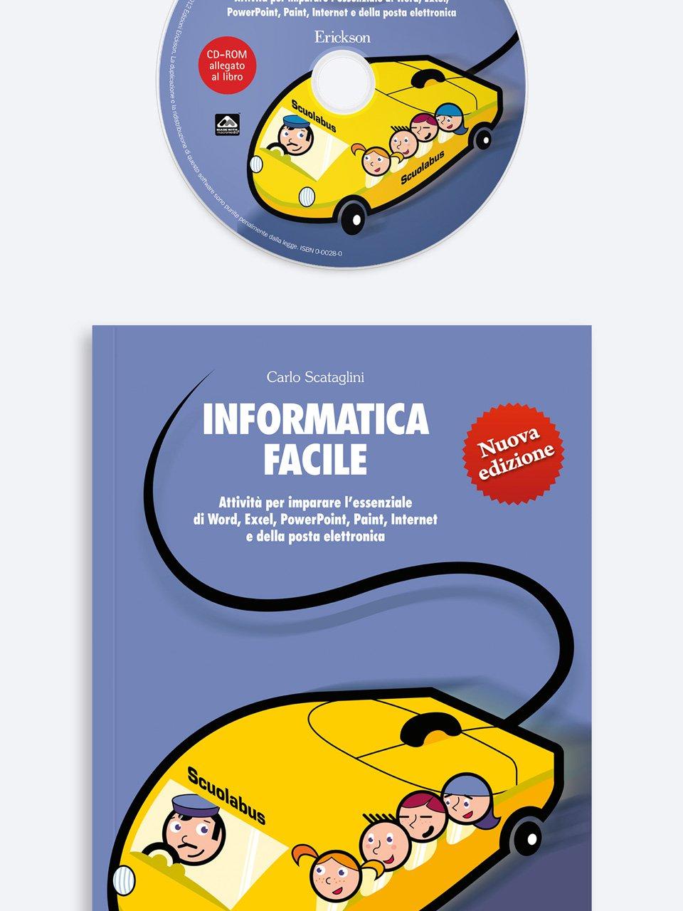 Informatica facile - Volume 1 Libro + CD-Rom - Erickson Eshop