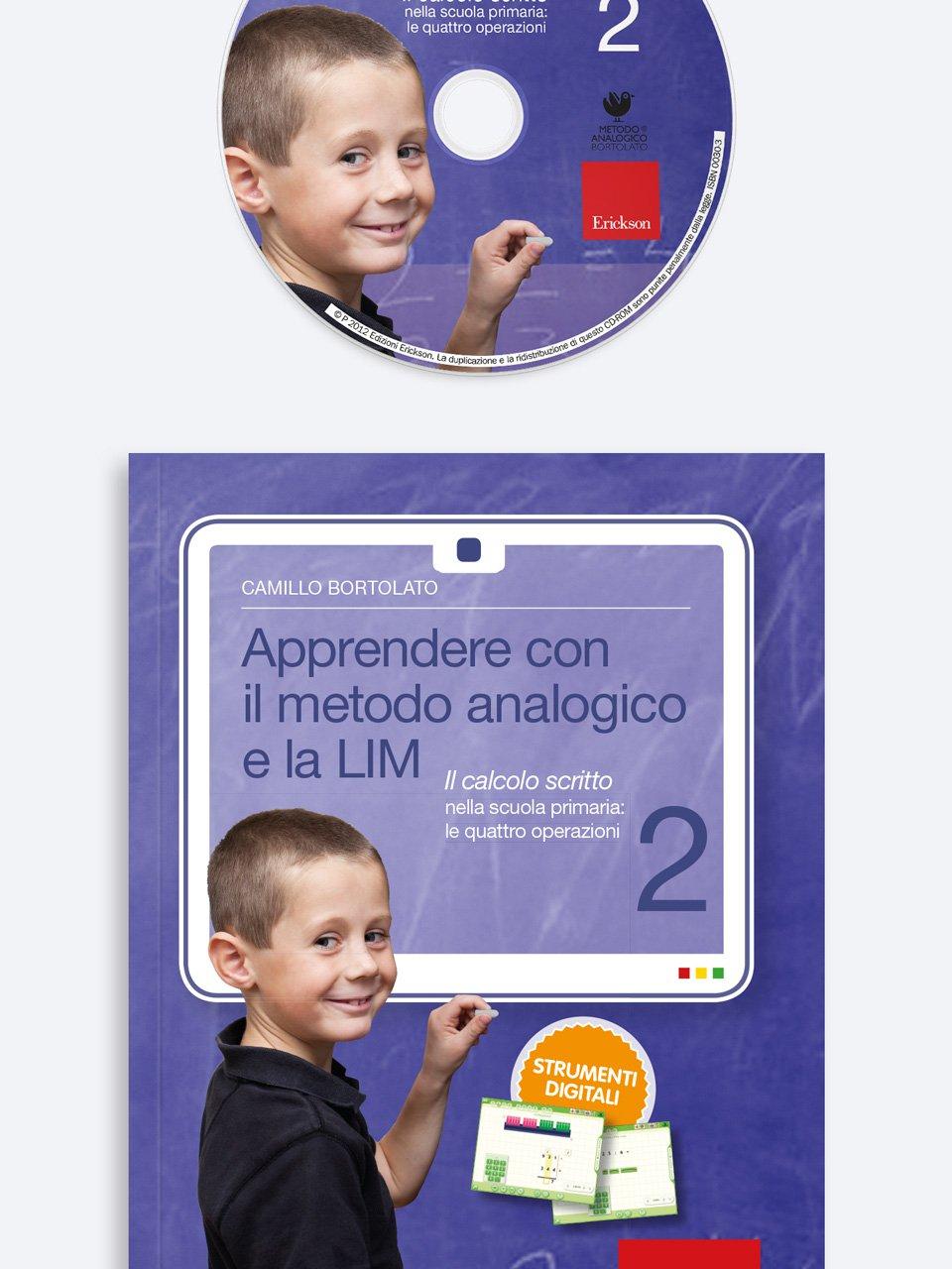 Apprendere con il metodo analogico e la LIM 2 - Metodo Analogico altre proposte - Erickson