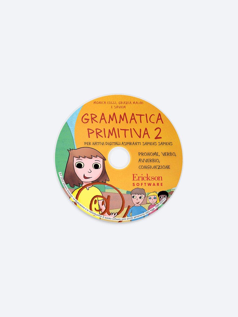 Grammatica primitiva - Volume 2 - Giocadomino - Sinonimi - Giochi - Erickson 2