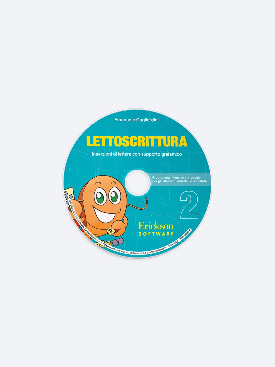 LETTOSCRITTURA - Volume 2 - RECUPERO IN... Abilità di lettura 2 - Libri - App e software - Erickson 2