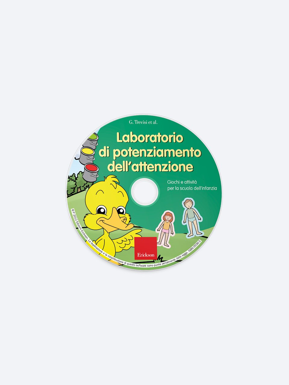 Laboratorio di potenziamento dell'attenzione - Libri - App e software - Erickson 5