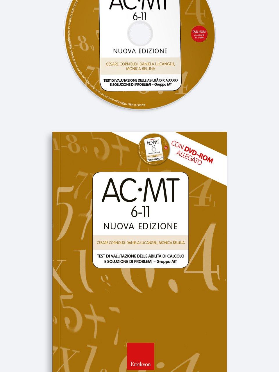 Test AC-MT 6-11 - Test di valutazione delle abilità di calcolo e soluzione di problemi - Test ABCA - Abilità di calcolo aritmetico - Libri - Erickson