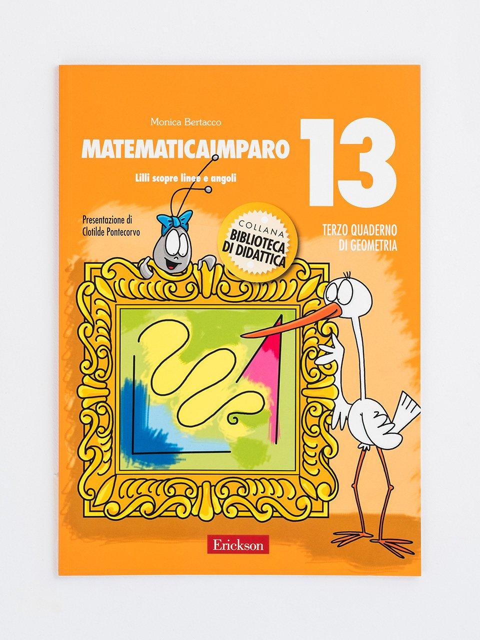 MatematicaImparo 13 - MatematicaImparo 10 - Libri - Erickson