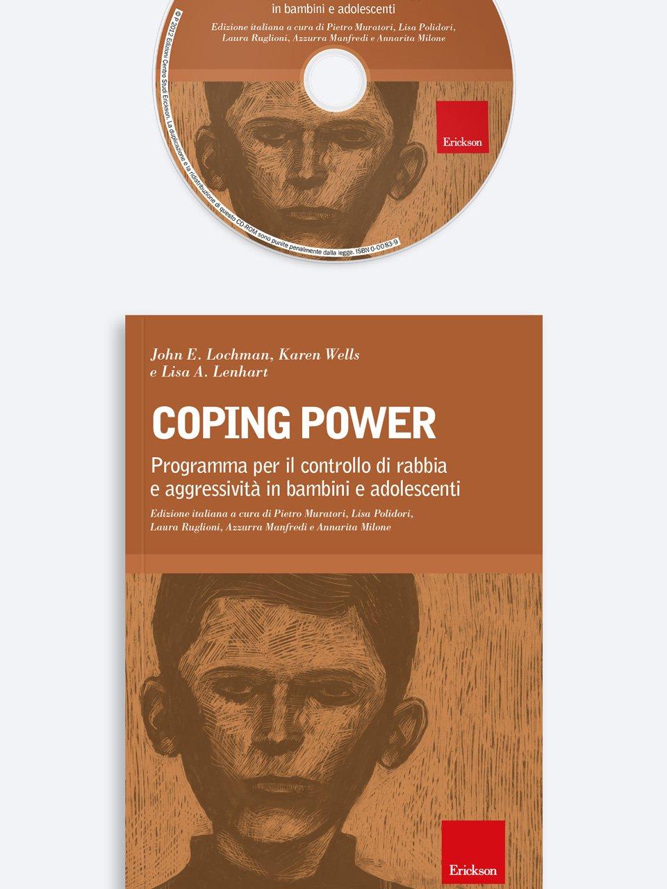 Coping Power - Utilizzare il programma Coping Power Scuola in classe - Erickson