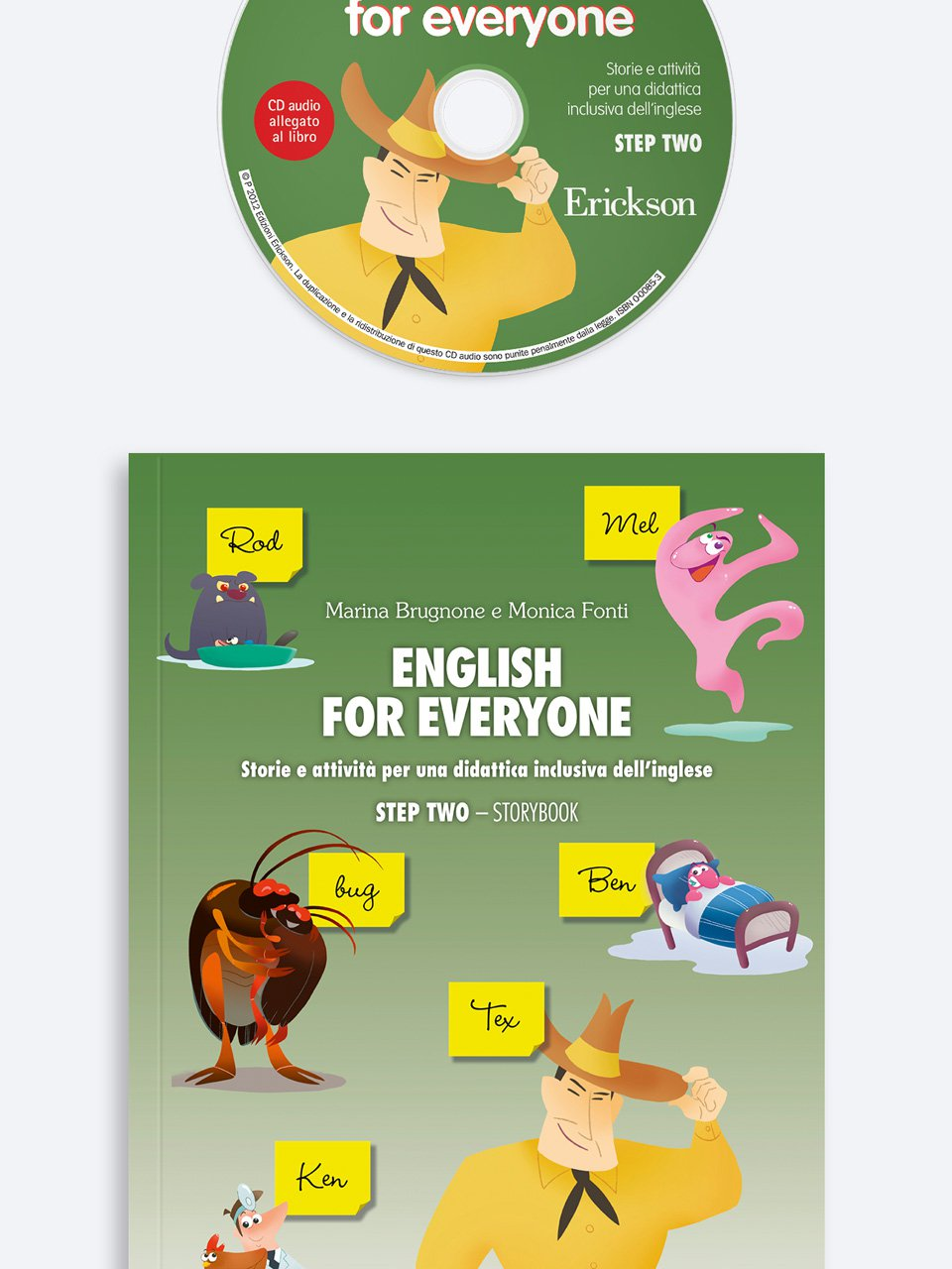 English for everyone - STEP TWO - Français facile - Libri - App e software - Erickson