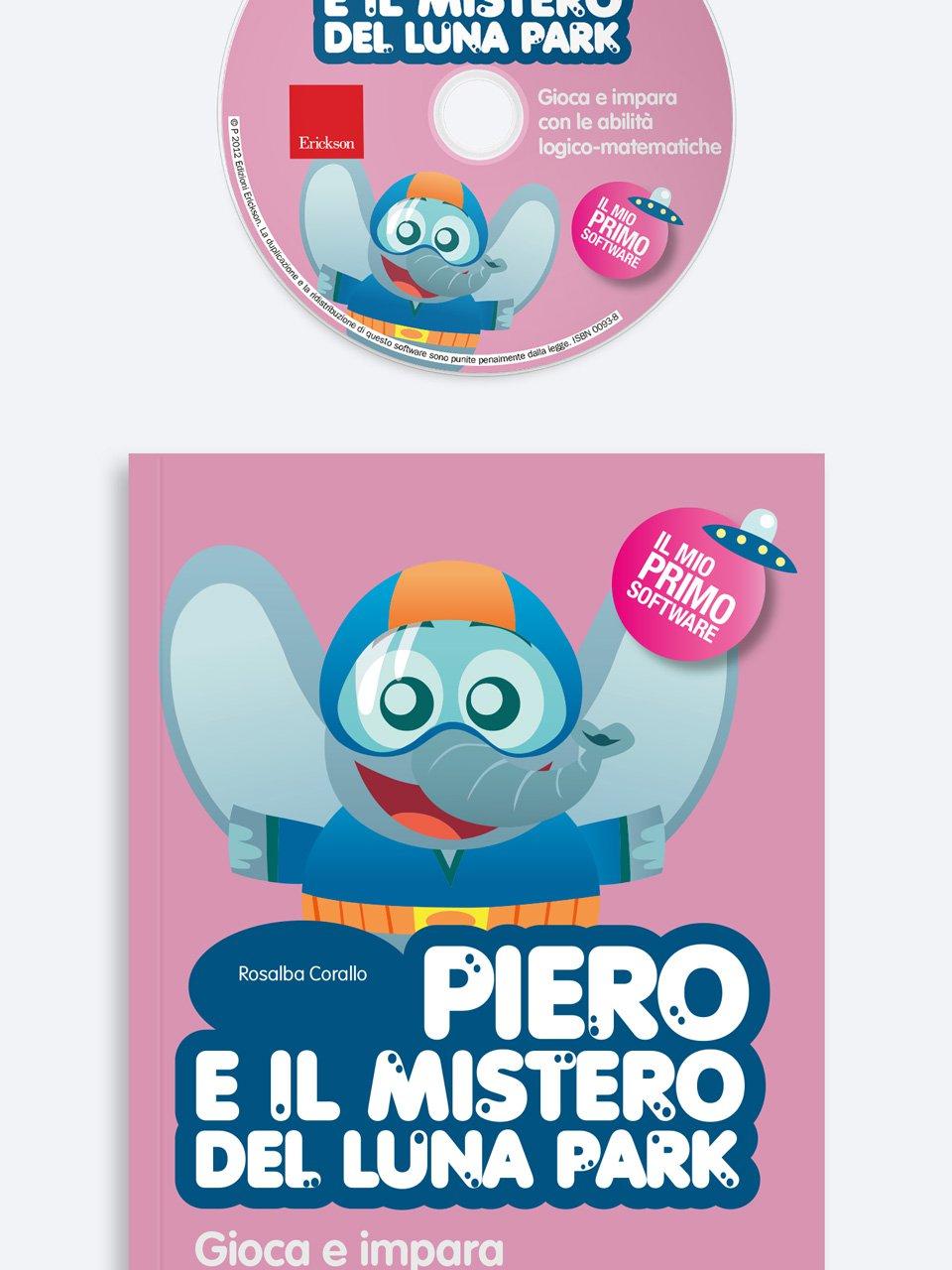 Piero e il mistero del luna park - App e software per Scuola, Autismo, Dislessia e DSA - Erickson
