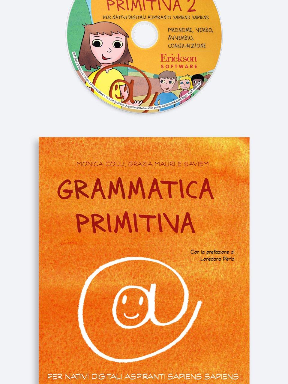 Grammatica primitiva - Volume 2 - Giocadomino - Sinonimi - Giochi - Erickson 3