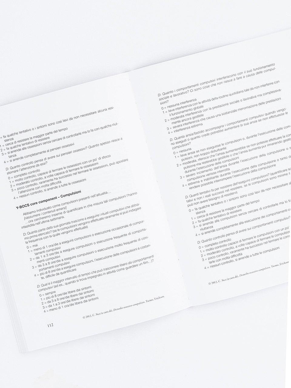 Disturbo ossessivo compulsivo - Libri - Erickson 2
