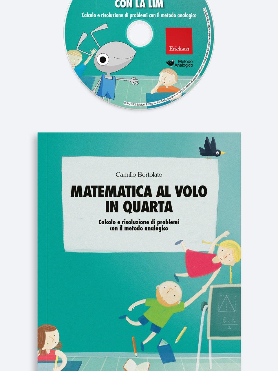 Matematica al volo in quarta - Metodo Analogico altre proposte - Erickson 2