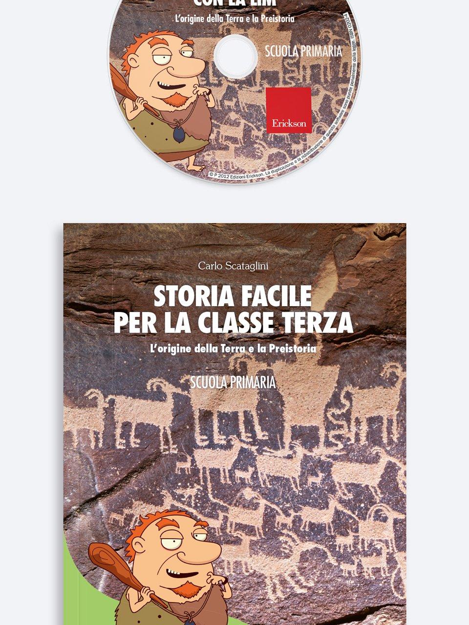 Storia facile per la classe terza - Geografia facile per la classe quinta - Libri - Erickson 2