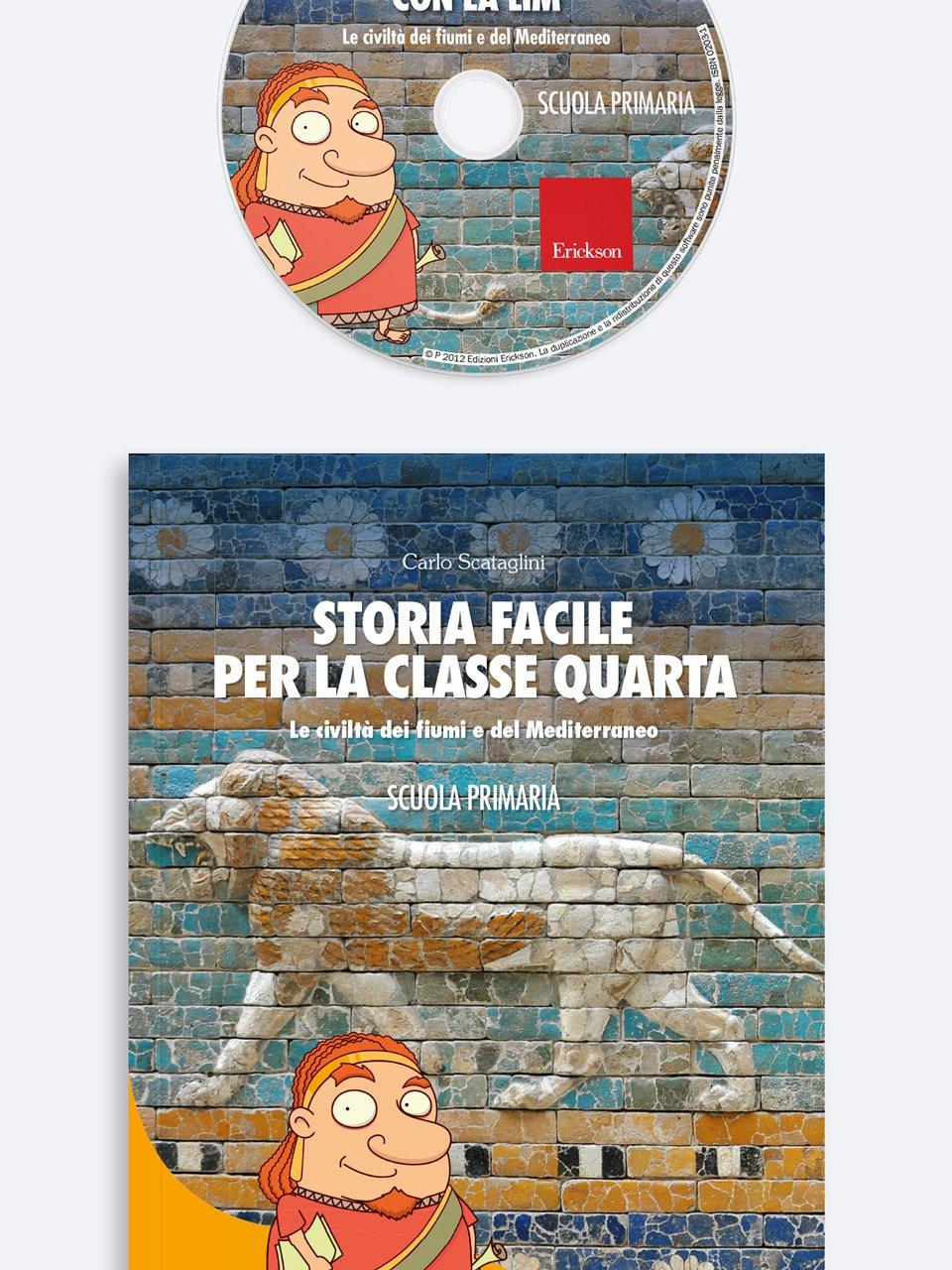 Storia facile per la classe quarta - Geografia facile per la classe quinta - Libri - Erickson 2