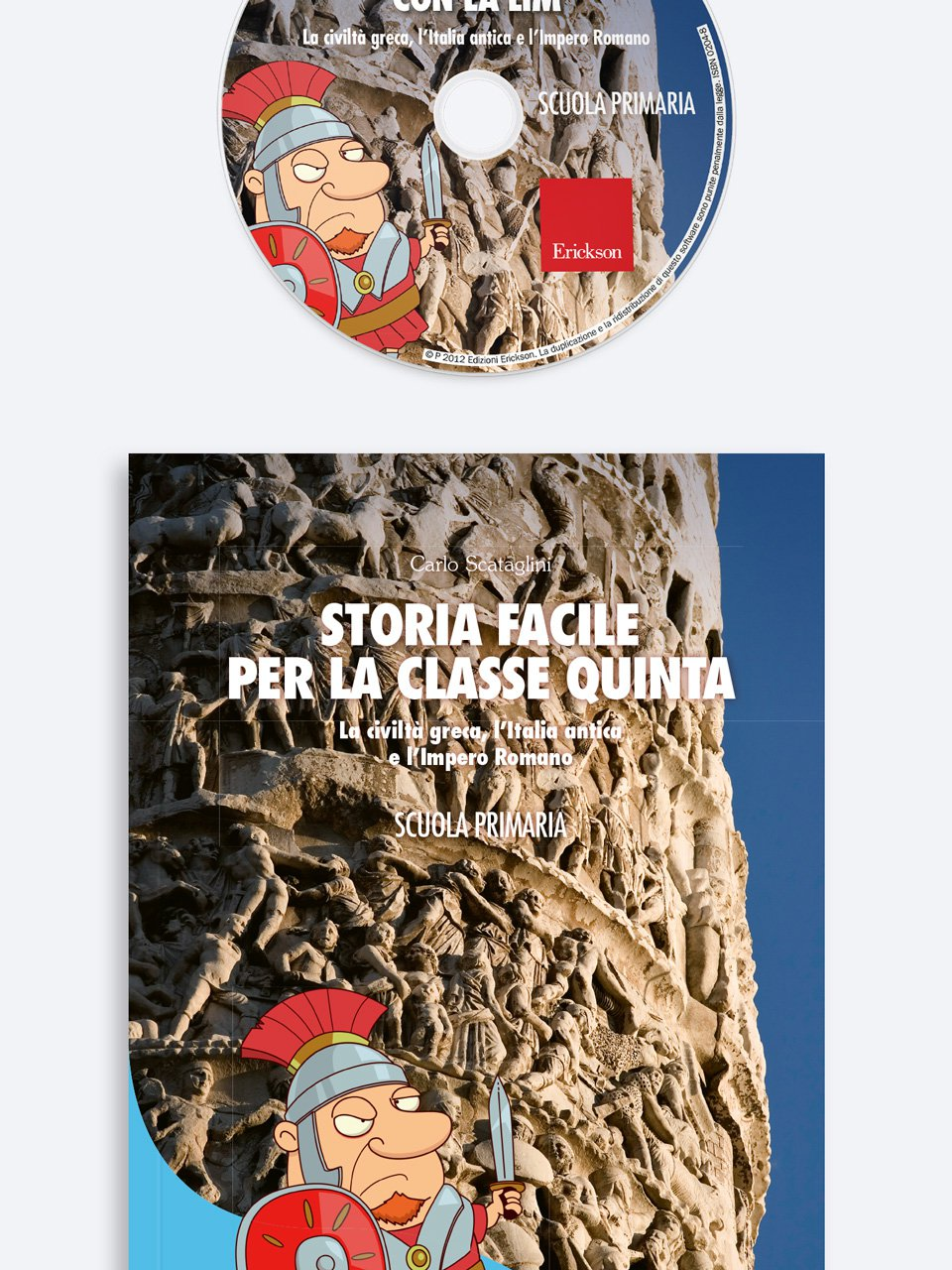Storia facile per la classe quinta - Geografia facile per la classe quinta - Libri - Erickson 2