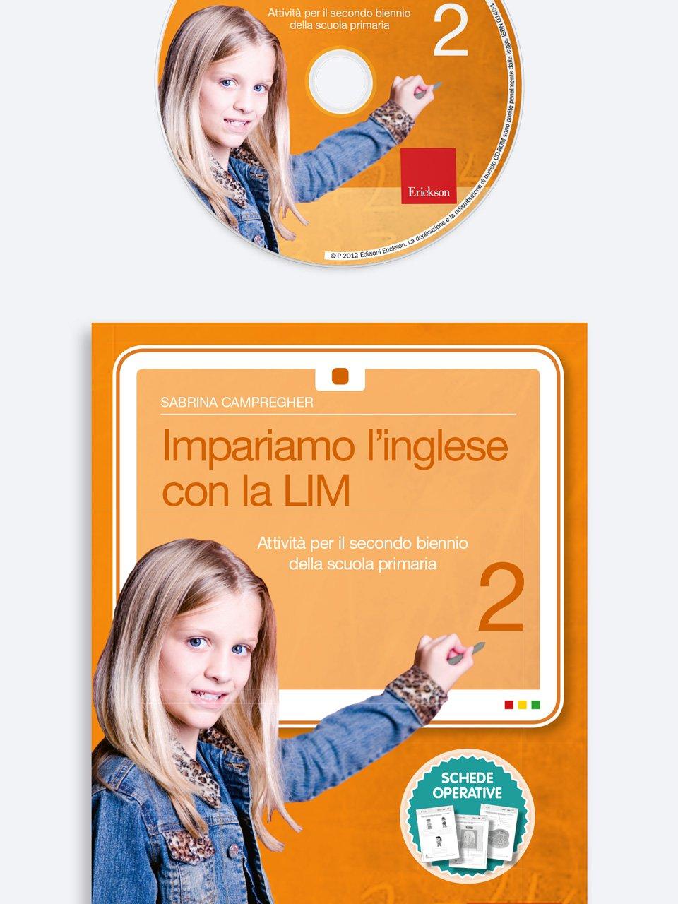 Impariamo l'inglese con la LIM 2 - Schede per Tablotto (Età 8+) - Play and Learn with - Giochi - Erickson