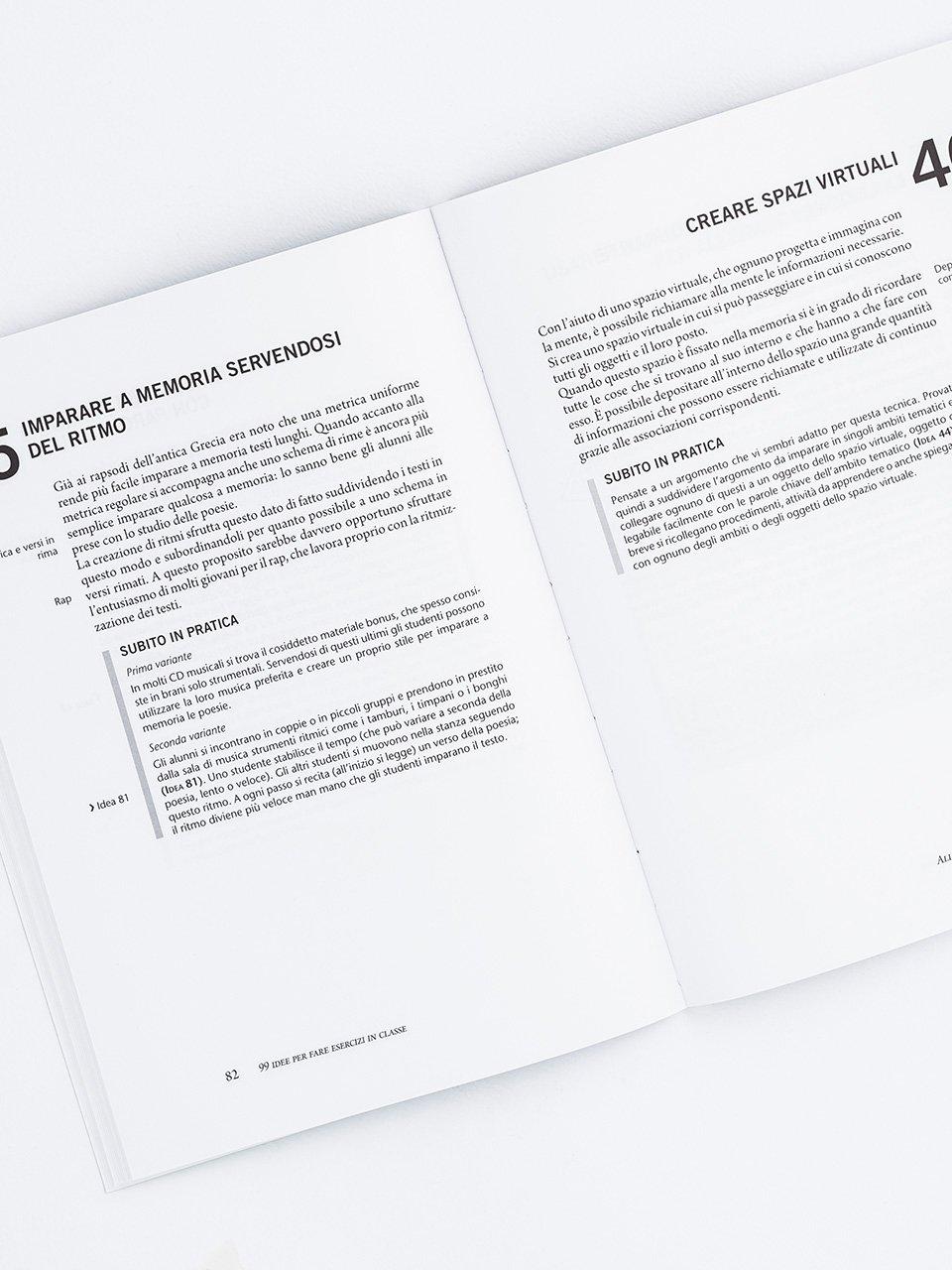 99 idee per fare esercizi in classe - Libri - Erickson 2