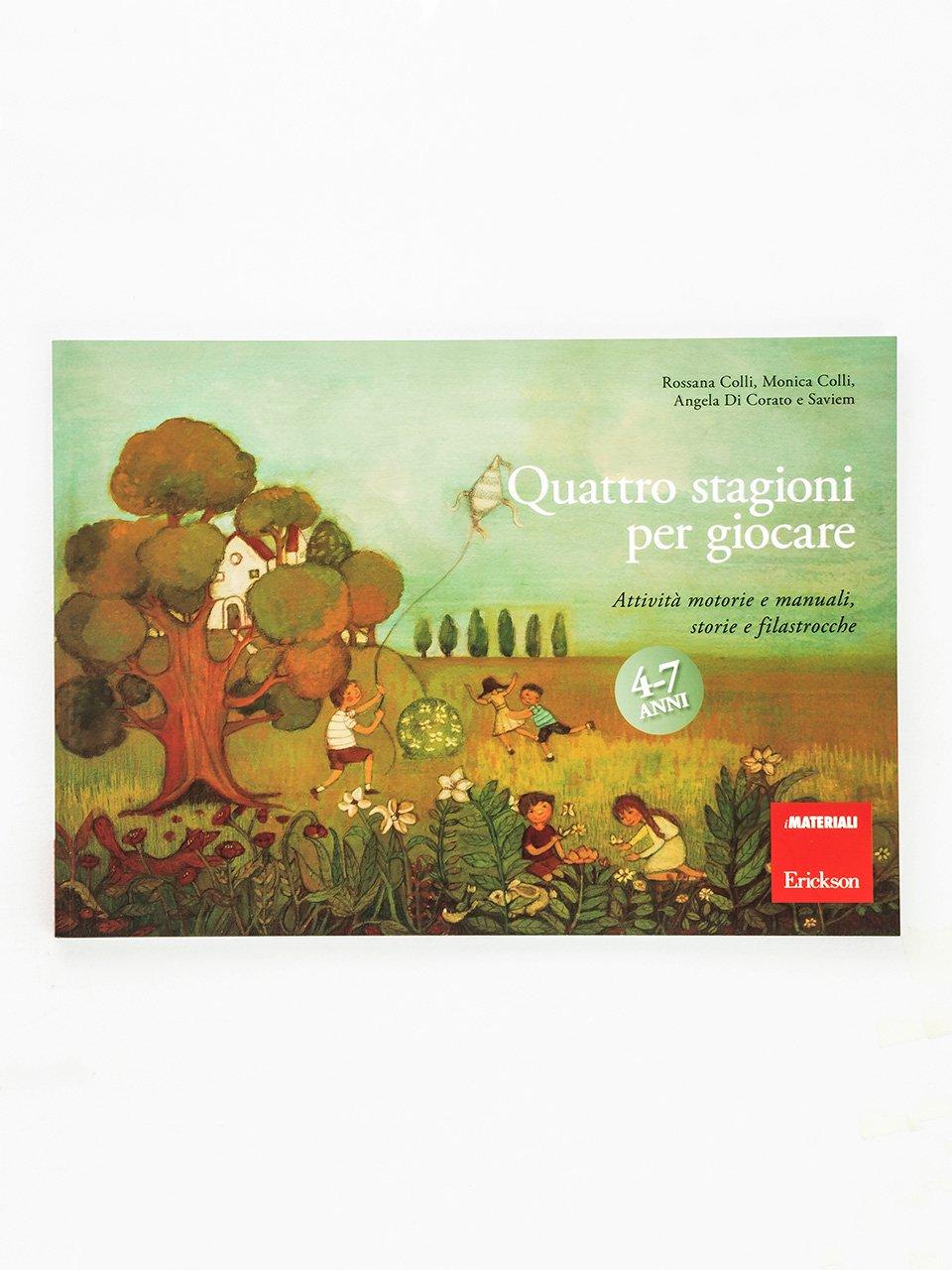 Quattro stagioni per giocare - Tutelandia - Libri - Erickson