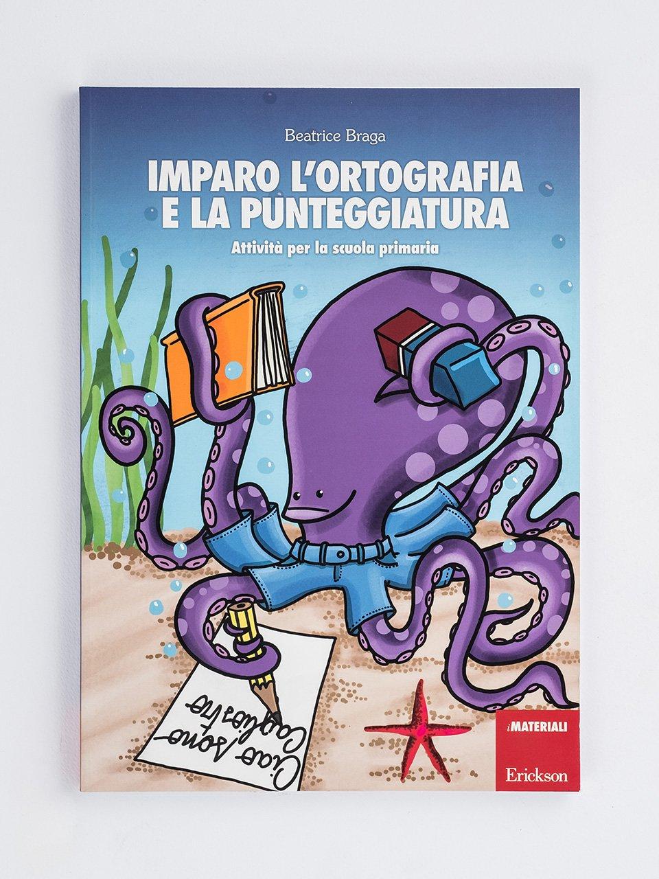 Imparo l'ortografia e la punteggiatura - Tablet delle regole di Italiano - Libri - Erickson