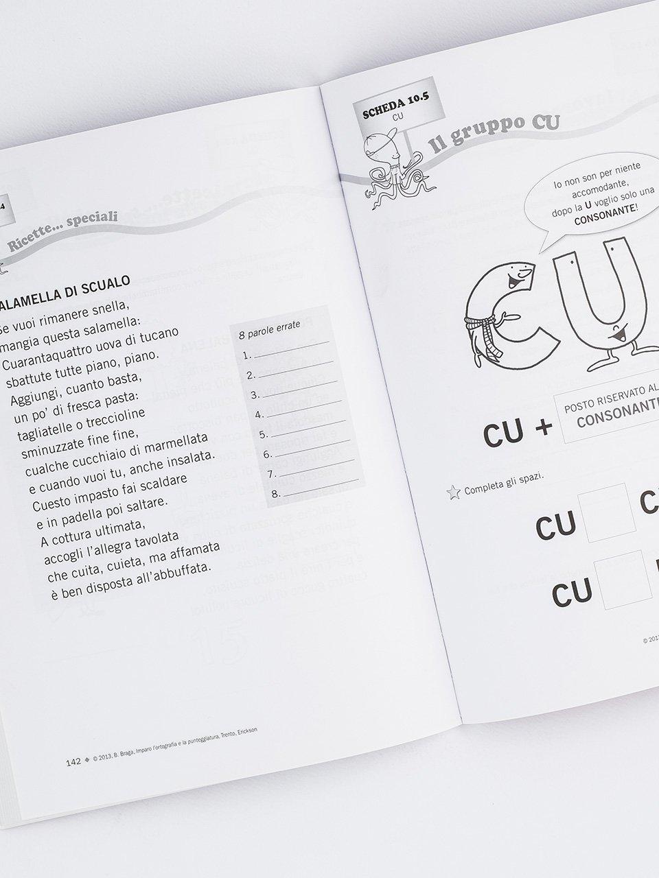 Imparo l'ortografia e la punteggiatura - Libri - Erickson 2