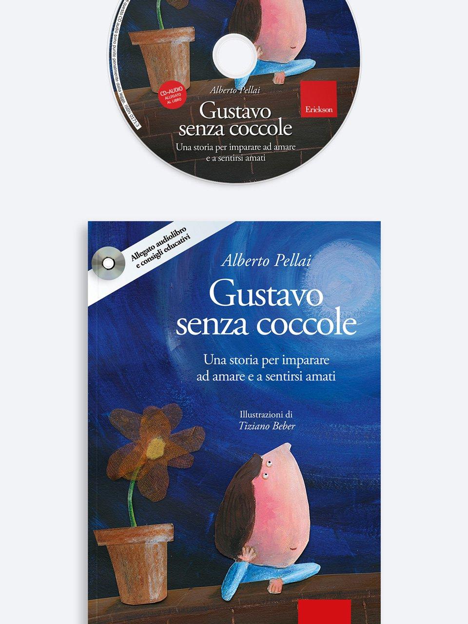 Gustavo senza coccole - Alberto Pellai - Erickson