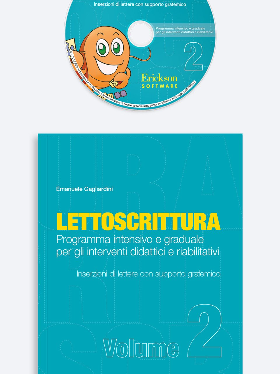 LETTOSCRITTURA - Volume 2 - RECUPERO IN... Abilità di lettura 2 - Libri - App e software - Erickson 3