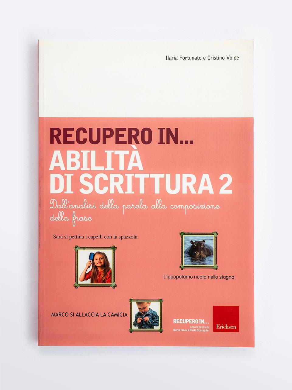 RECUPERO IN... Abilità di scrittura 2 - Abilità cognitive - Vol. 1: Percezione visiva - Libri - Erickson