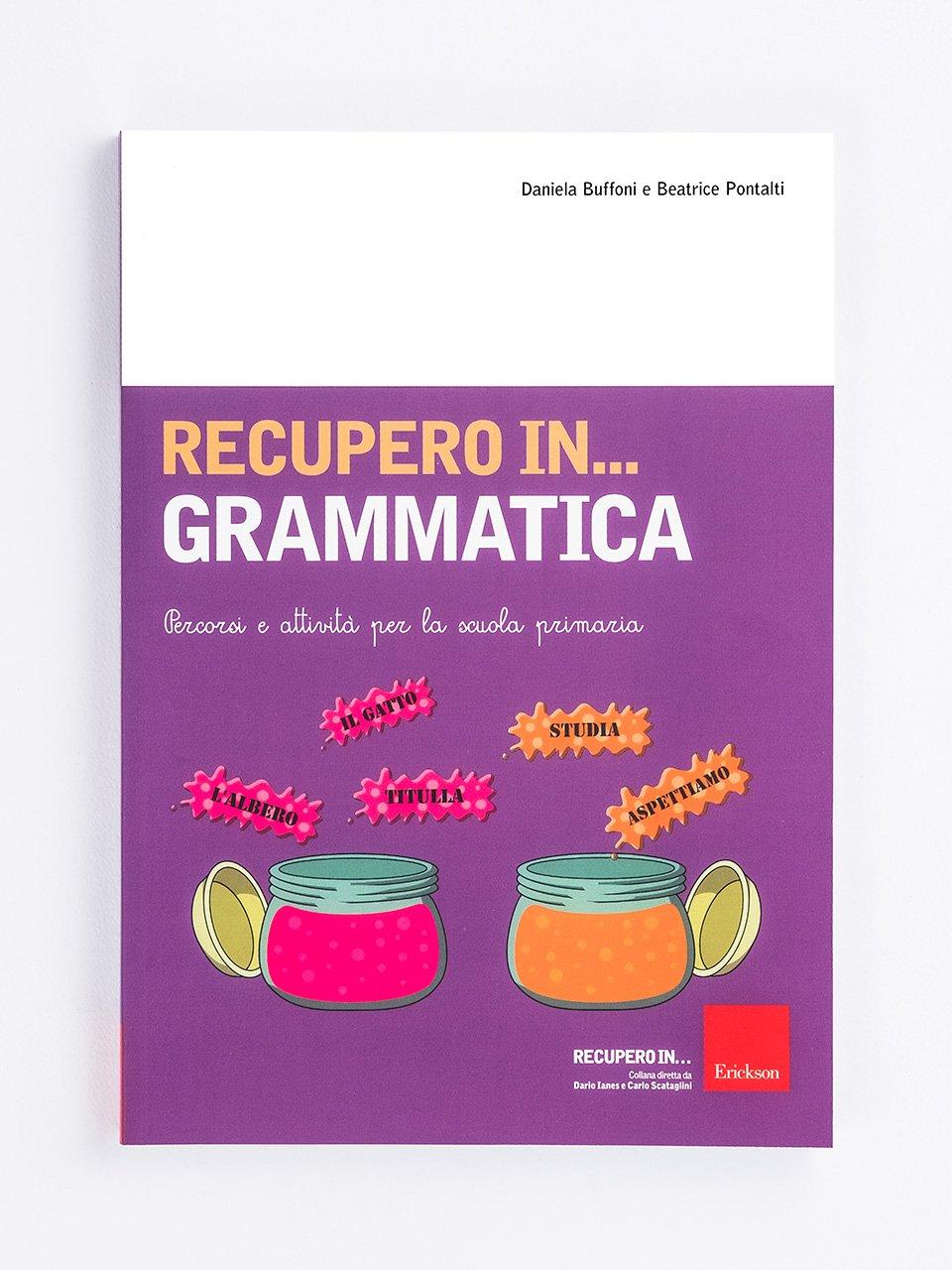 RECUPERO IN... Grammatica - App e software per Scuola, Autismo, Dislessia e DSA - Erickson