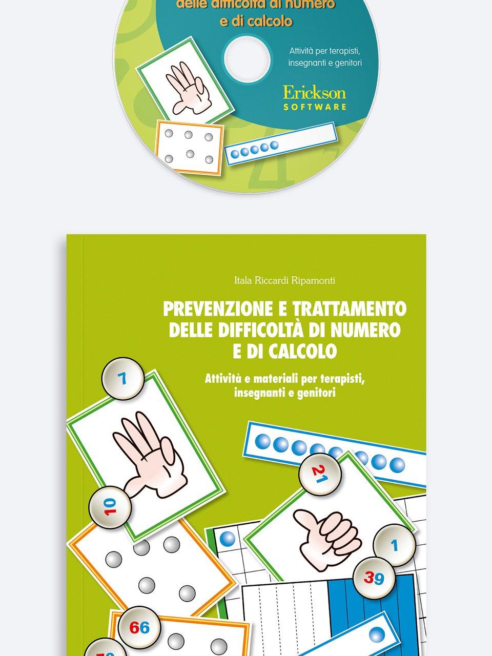 Prevenzione e trattamento delle difficoltà di numero e di calcolo - Tabelline e difficoltà aritmetiche - Libri - App e software - Erickson 2