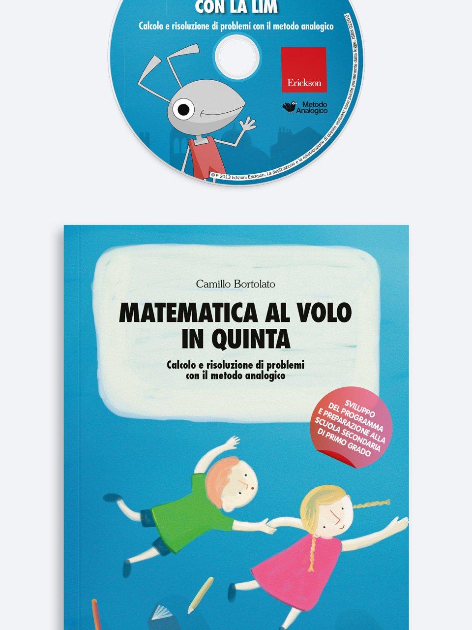 Matematica al volo in quinta - Metodo Analogico altre proposte - Erickson 3
