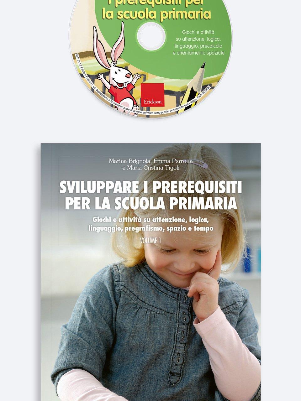 Sviluppare i prerequisiti per la scuola primaria - Le proposte Erickson per i compiti-delle-vacanze - Erickson 3
