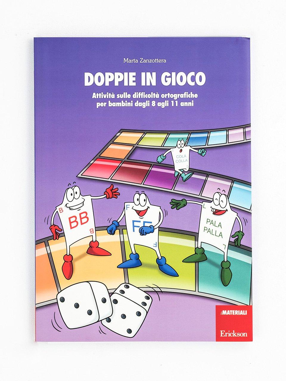 Doppie in gioco - Le difficoltà ortografiche - Volume 1 - Libri - App e software - Erickson